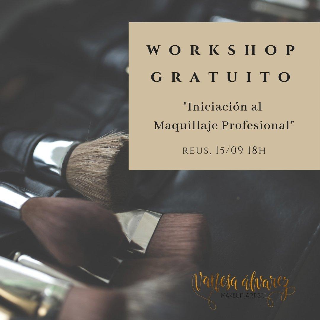 Workshop Gratuito De Iniciación Al Maquillaje Profesional