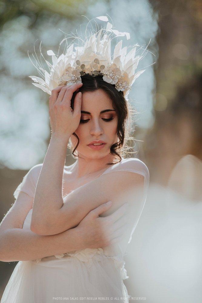 Vanesa Alvarez maquilladora de novias