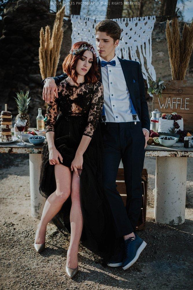 invitada de boda