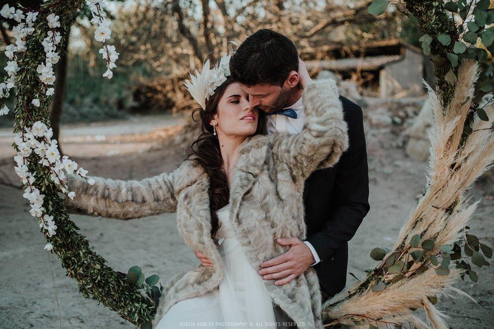 maquillaje y peinado de novia Vanesa Alvarez